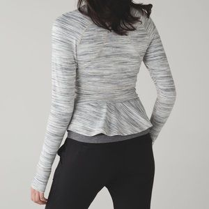 LULULEMON Hustle In Your Bustle Jacket Space Dye 6
